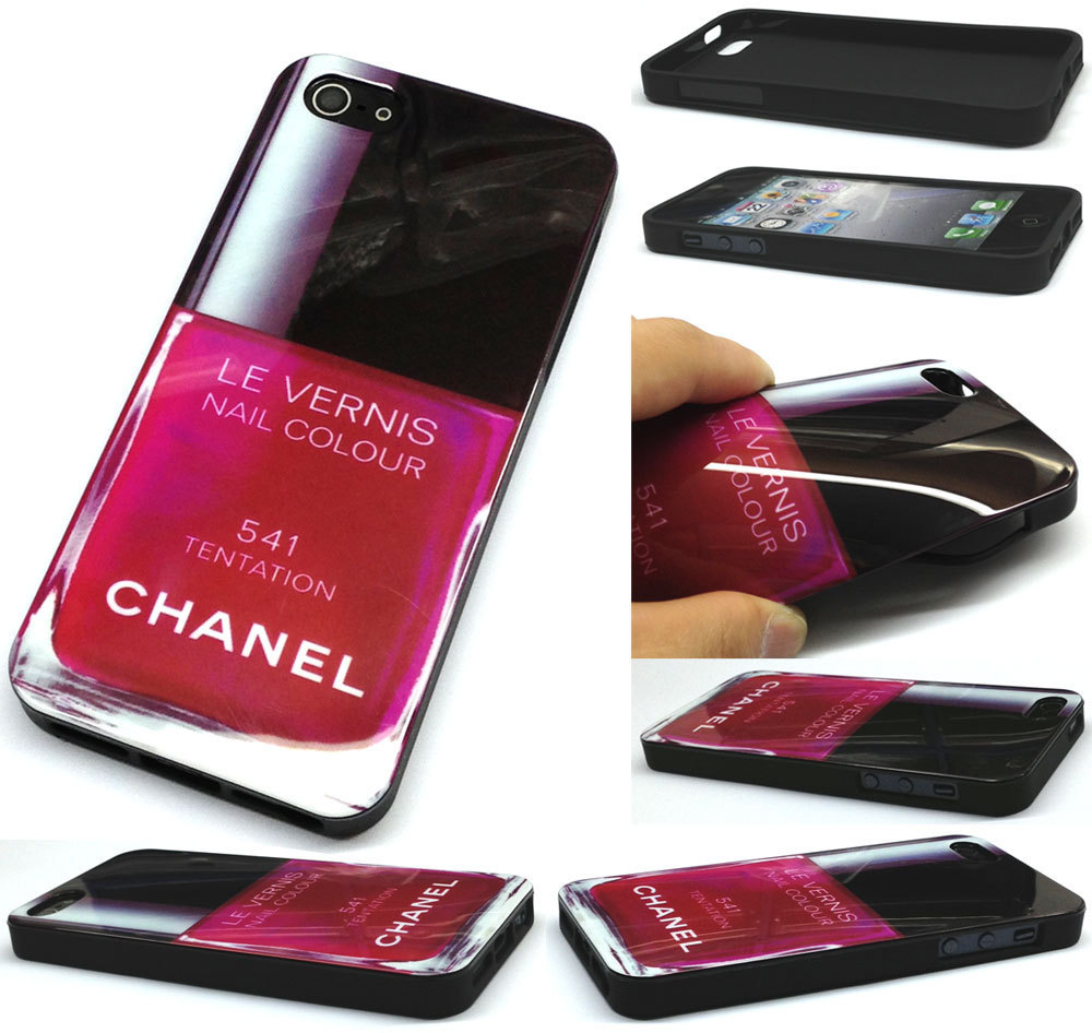 Nail Polish Tentation Apple Iphone 5 Iphone4 4S Tpu Soft Case Cover ...